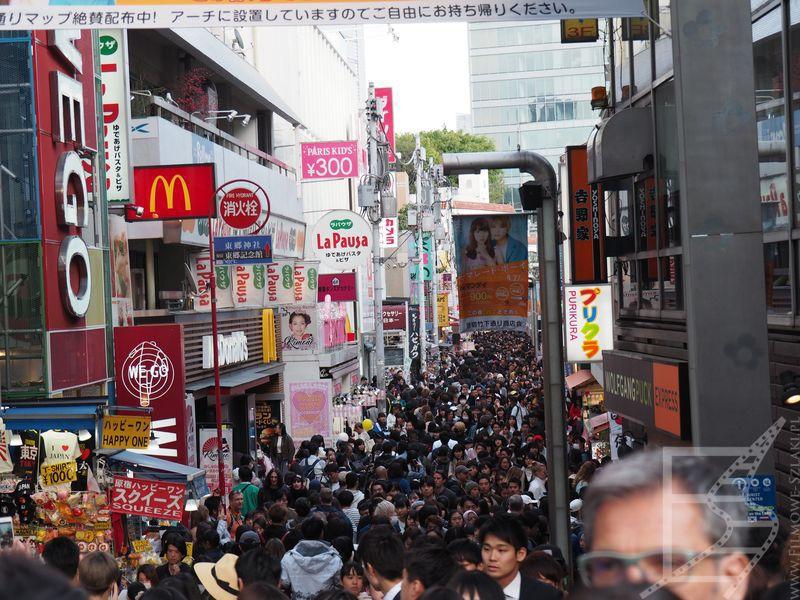 Turystyczna dzielnica handlowa Takeshita