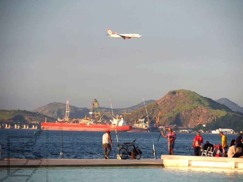 Samolot linii GOL, Rio de Janeiro