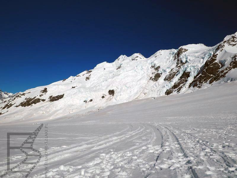 Na lodowcu Tasmana