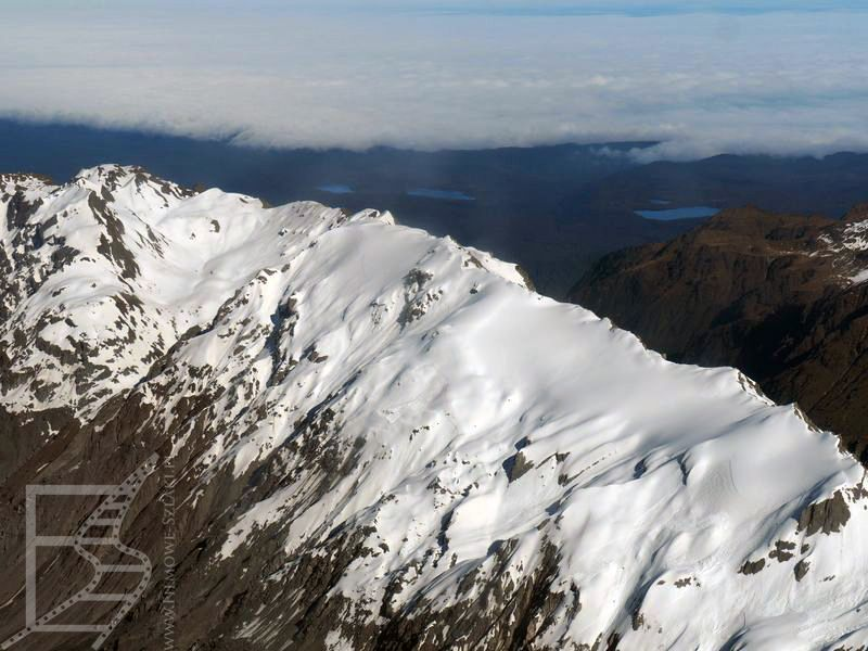 Lot wokół góry Cooka
