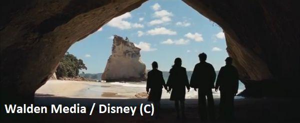 """""""Opowieści z Narnii: Książe Kaspian"""" i wejście do Narnii. Faktycznie Cathedral Cove (Nowa Zelandia)"""