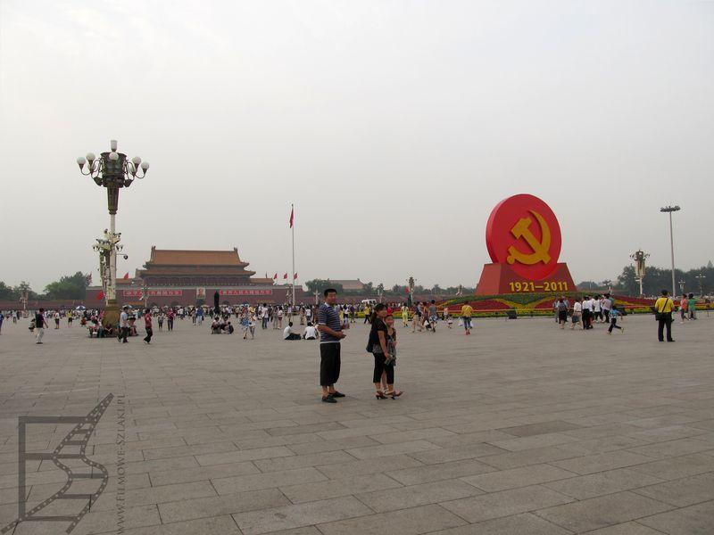 Plac Bramy Niebiańskiego Pokoju, Tian'anmen