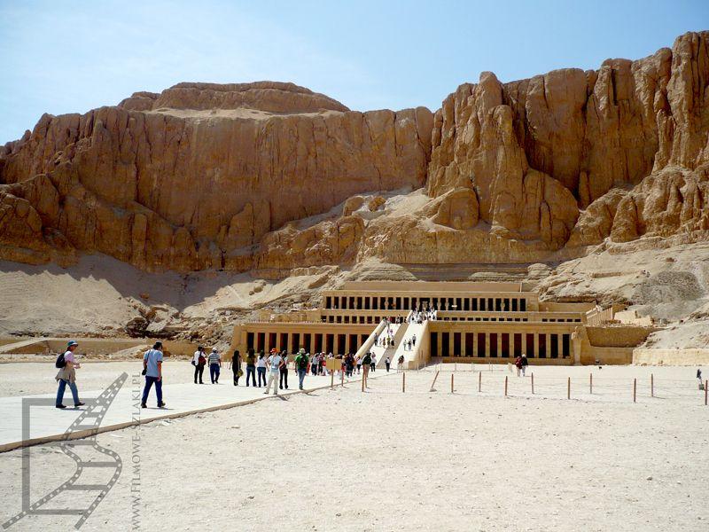 Grobowiec - Świątynia Hatszepsut, Luksor