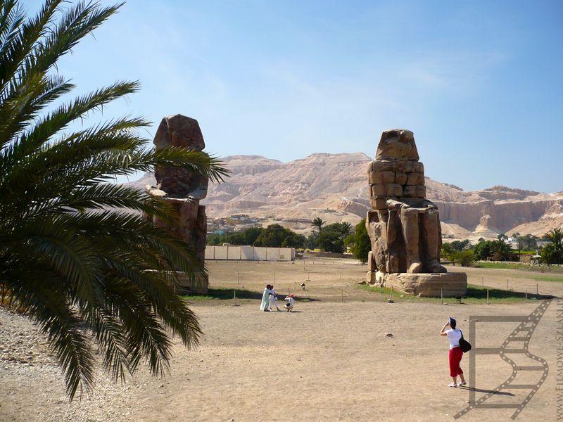 Kolosy Memnona, Luksor