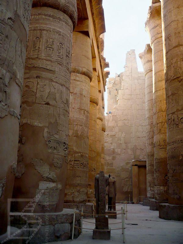 Hala hypostylowa w Karnaku