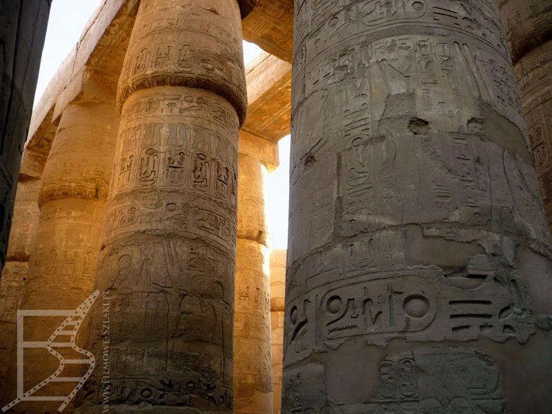 Karnak i wielkie kolumny (Luksor, Egipt)