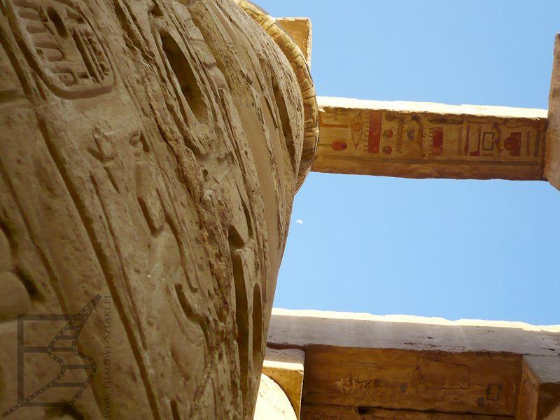 Sala hypostylowa składała się z 134 kolumn