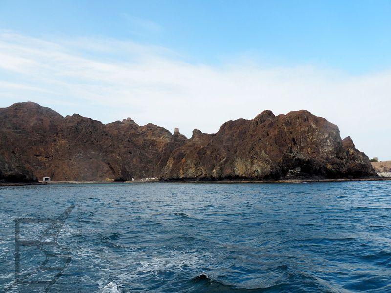 Zatoka Omańska, wybrzeże
