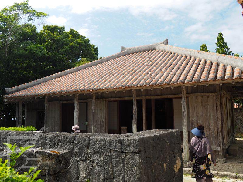 Klasyczna zabudowa, skansen w Churuami