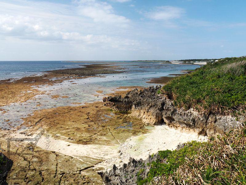 Plaża w pobliżu akwarium