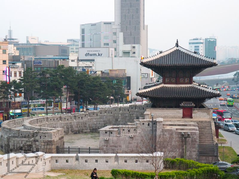 Mury miejskie w Dongdaemun