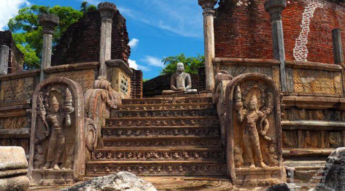 Dalada Maluva i jeden z najbardziej znanych widoków Sri Lanki