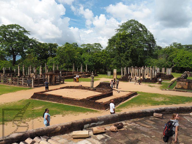 Stanowisko archeologiczne w Polonnaruwie