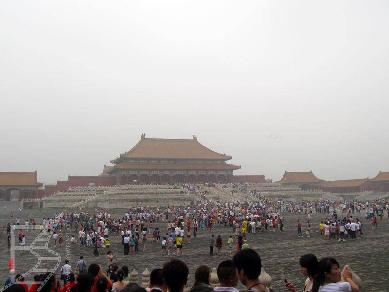 Zakazane Miasto i słynny smog w Pekinie