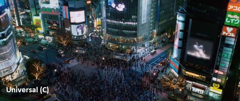 """""""Szybcy i wściekli: Tokio Drift"""" i skrzyżowanie Shibuya. Tu pościg ulicami Tokio nagle musi spowolnić, gdy docieramy do najtłoczniejszego przejścia dla pieszych."""