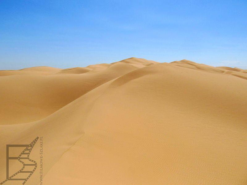 Wydmy na pustyni Yuma