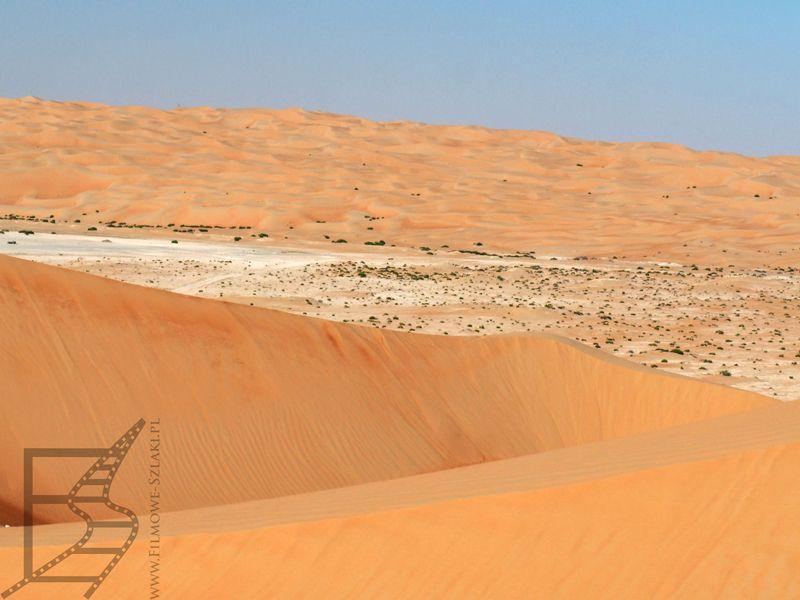 """Tu gdzieś powstawało """"Przebudzenie Mocy"""" (pustynia Liwa)"""