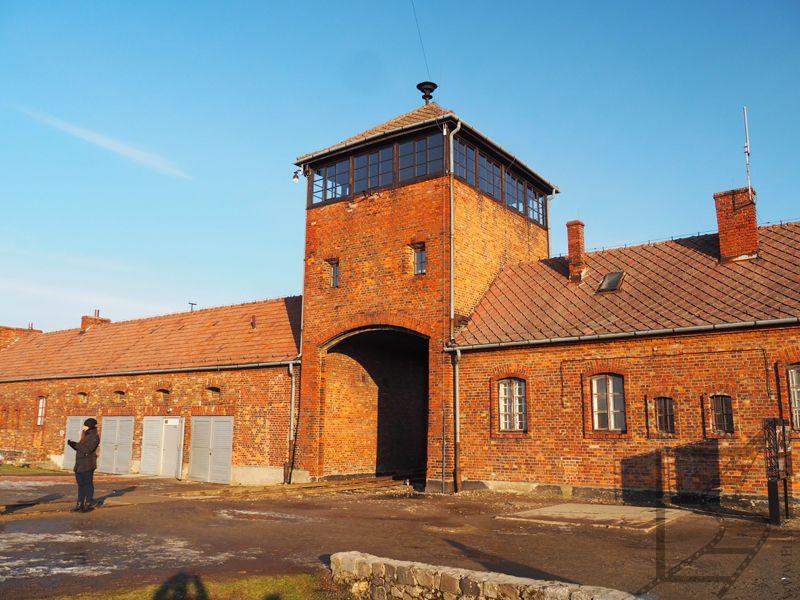 Brama w Birkenau