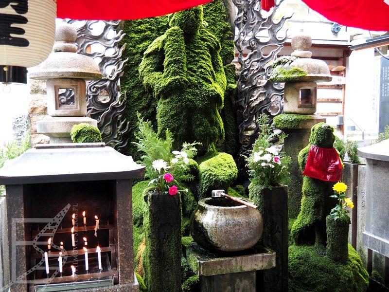 Świątynia Hozenji Yokocho