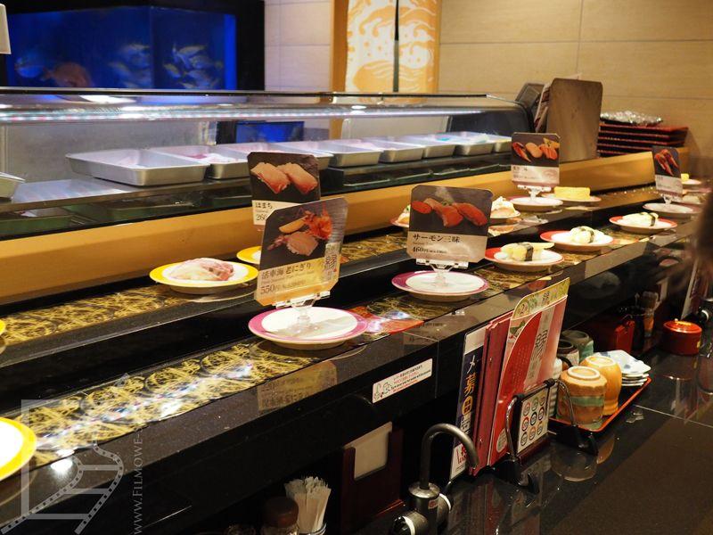 Japoński sushi bar
