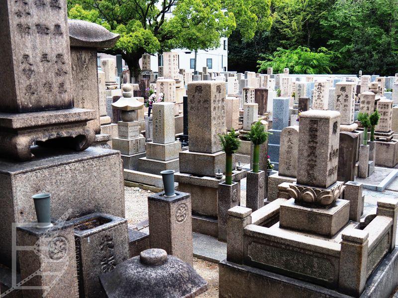 Cmentarz przy świątyni Isshin-ji