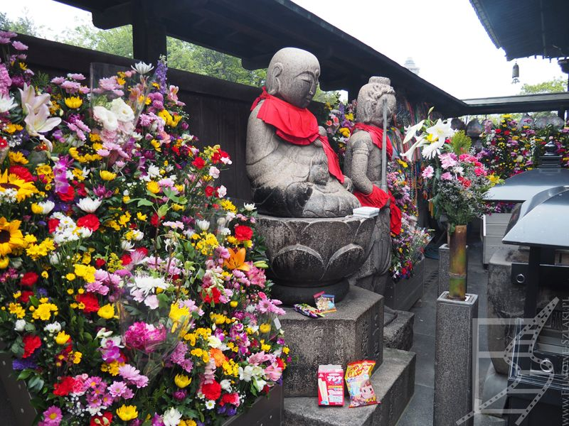 Buddowie w Isshin-ji