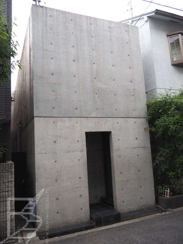 Row House (Dom Amuzy), proj. architektoniczny: Tadao And