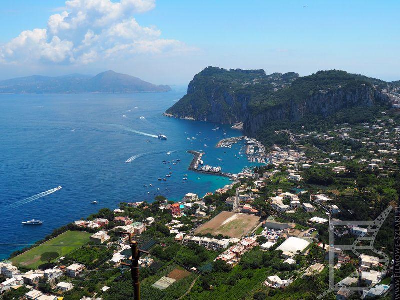 Widok na Marina Grande