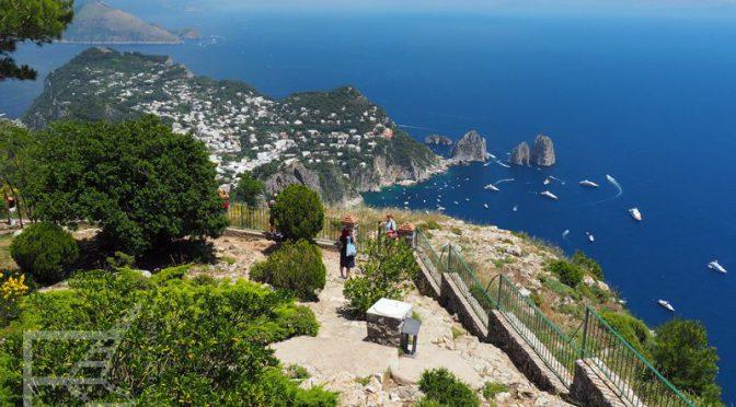 Widok z Monte Solaro (Capri)