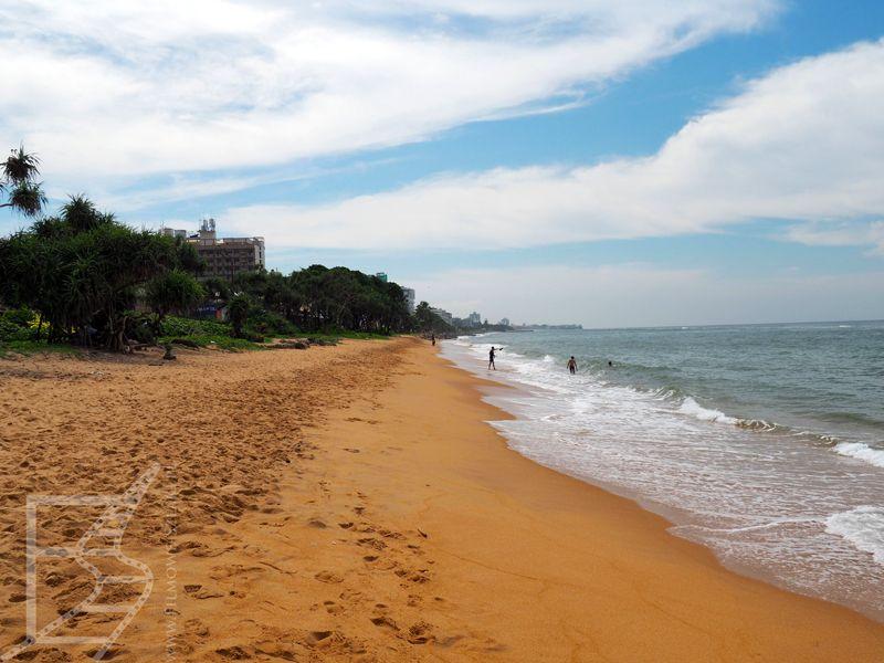 Plaża w Kolombo
