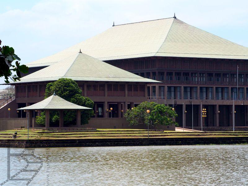 Kotte, budynek parlamentu Sri Lanki