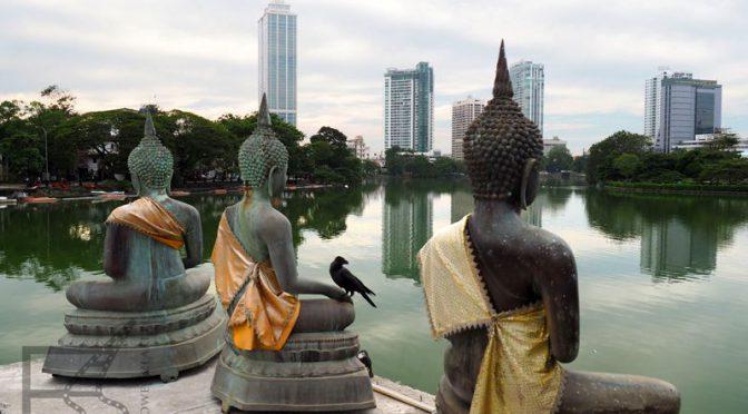 Kolombo, była stolica i główny port Sri Lanki