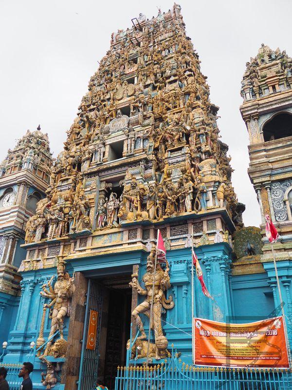 Sivasubramania Swami Kovil, świątynia hinduistyczna w Kolombo