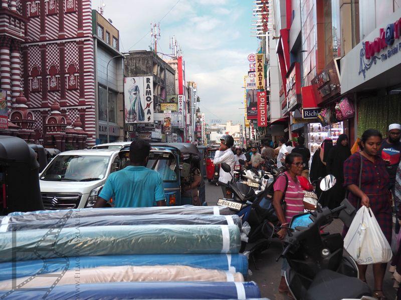 Pettah Market w Kolombo