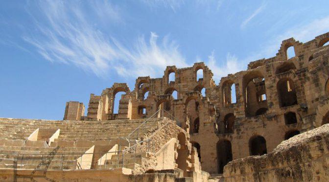 Al-Dżamm (Al-Dżem) i wielki amfiteatr