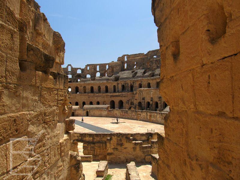 Widok na amfiteatr