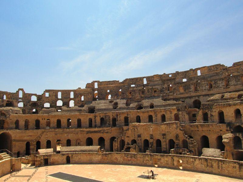 Amfiteatr Al-Dżamm w Tunezji