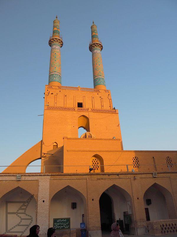 Minarety w Meczecie Piątkowym (Jazd)