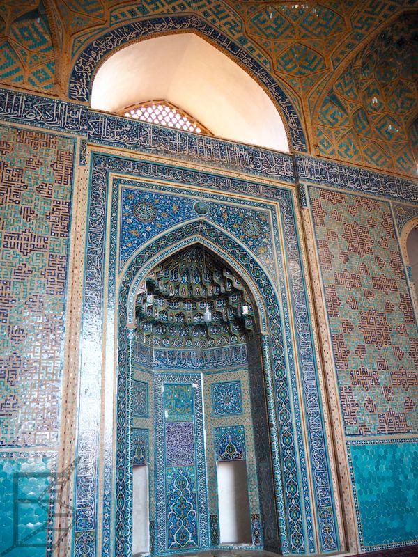 Mihrab w Meczecie Piątkowym