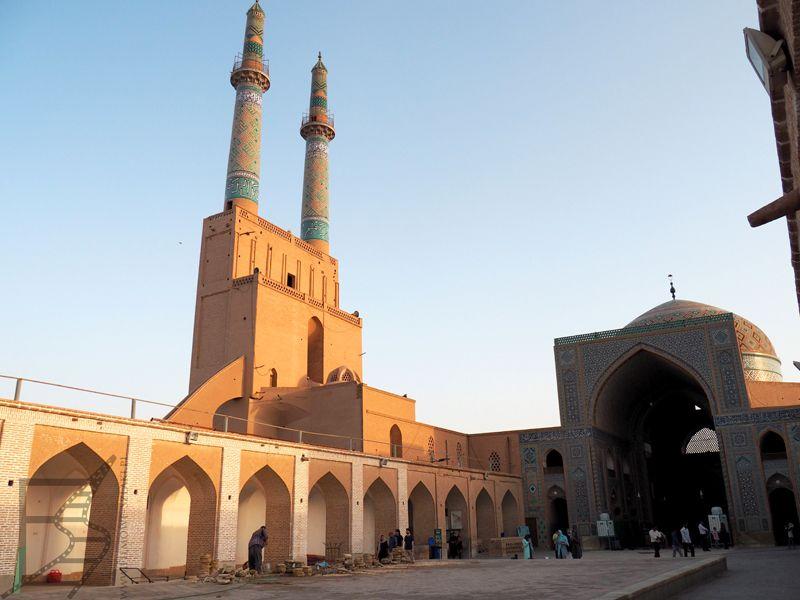 Meczet Piątkowy w Jazd