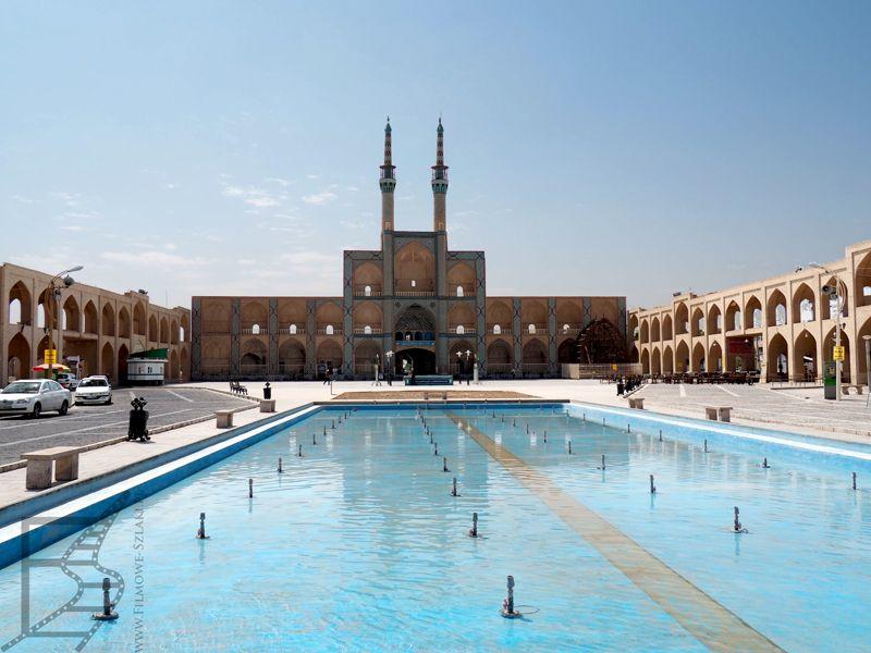Kompleks Amir Chakhmaq i fontanna (Jazd)
