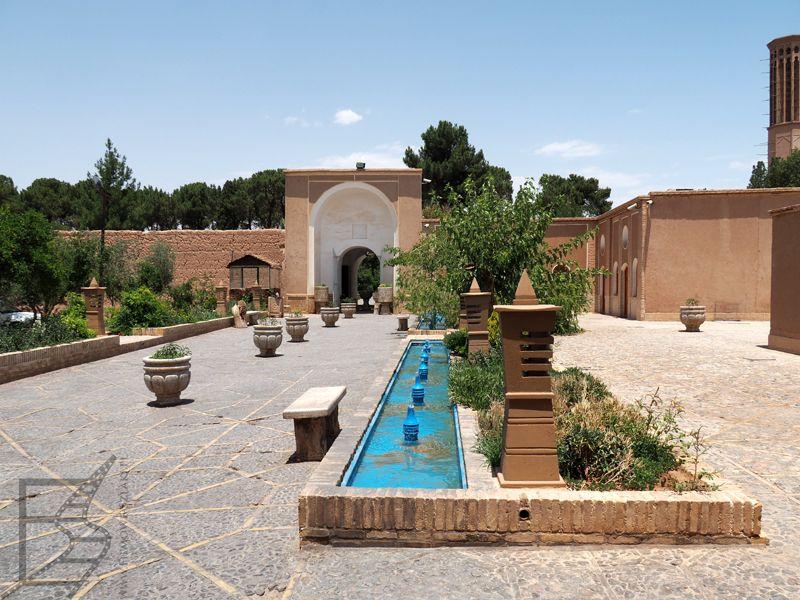 Perski ogród Dolat Abad w Jazd