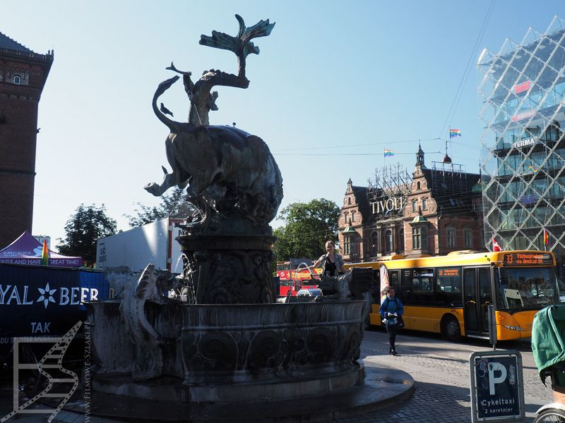 Fontanna ze smokiem (Kopenhaga)