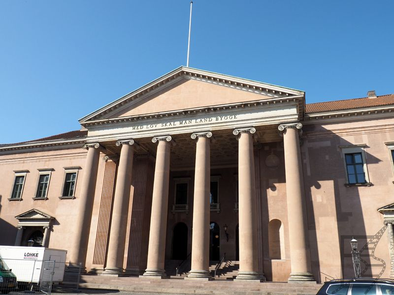 Budynek Sądu na Henrettelsesplads