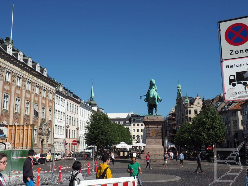Absalon, czyli rzeźba biskupa Absalona to charakterystyczny punkt Kopenhagi
