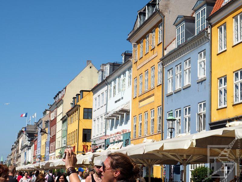 Turystyczna Kopenhaga dziś żyje wokół Nyhavn