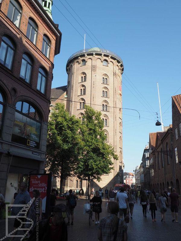 Rundetårn, bardzo charakterystyczny budynek w Kopenhadze