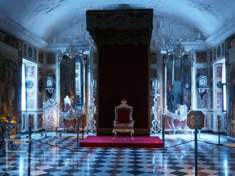 Sala tronowa w pałacu Rosenborg