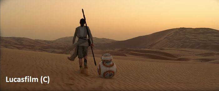 """Pustynia Liwa i """"Gwiezdne Wojny: Przebudzenie Mocy"""" zagrała rodzinną planetę Rey, czyli Jakku."""