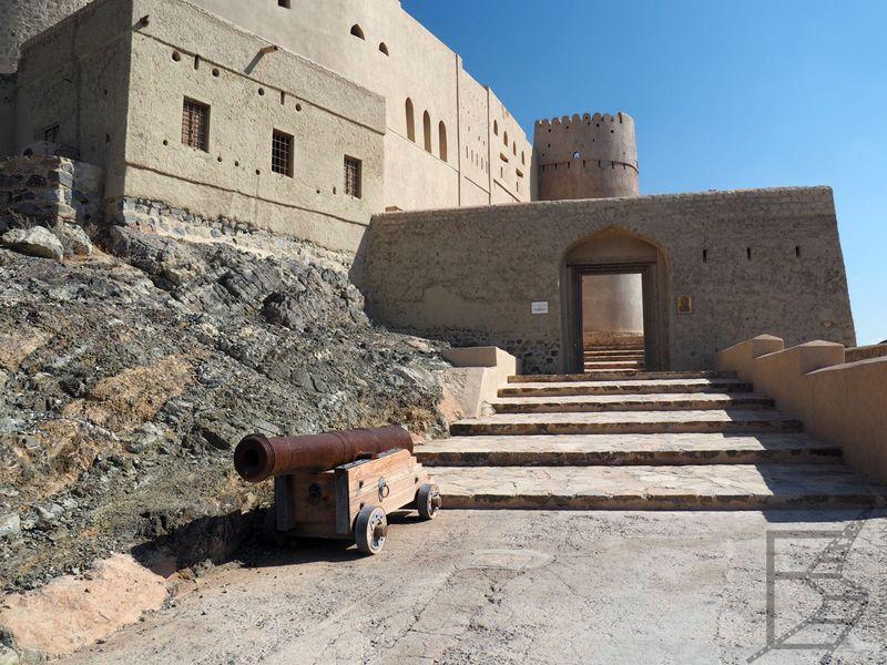 Wejście do fortu
